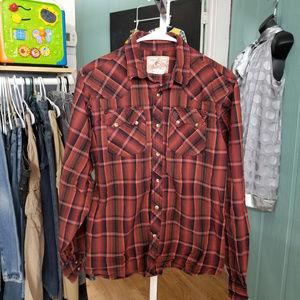 Wrangler Western Shirt Size 18-20